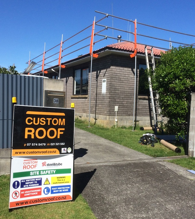 Custom Roof Services - Re-Roofing